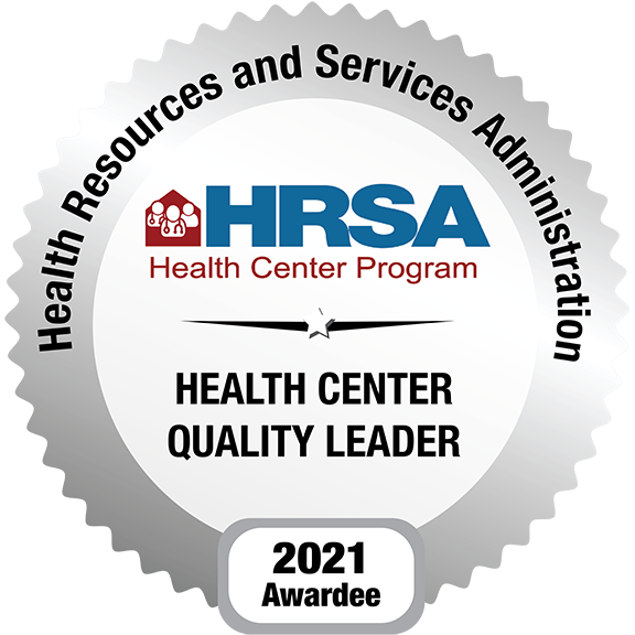 Recently recognized as a Health Center Quality Leader